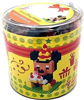 【東京ディズニーシー 開園10周年 ミッキーマウス ナノブロック】 TDS 10th Anniversary Be Magical! Mickey Mouse nanoblock