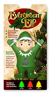 Evergreen Elf - Tree Water/Moisture Level Monitor - Fits All Tree Stands - Help Keep Trees Healthier Longer - Comes with Light Indicator as a Water Level Indicator