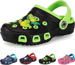 Enfants Sabots Et Mules Pantoufles Chaussures Fille Garçon Antidérapant Piscine de Jardin Été Clogs Sandales de Plage à En...
