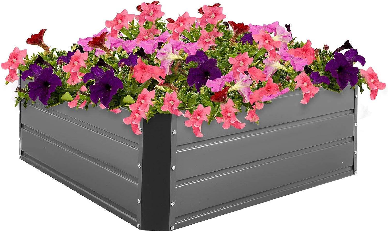 VEVOR Galvanized Raised Garden Bed Pl Cheap super special price Metal 15.6