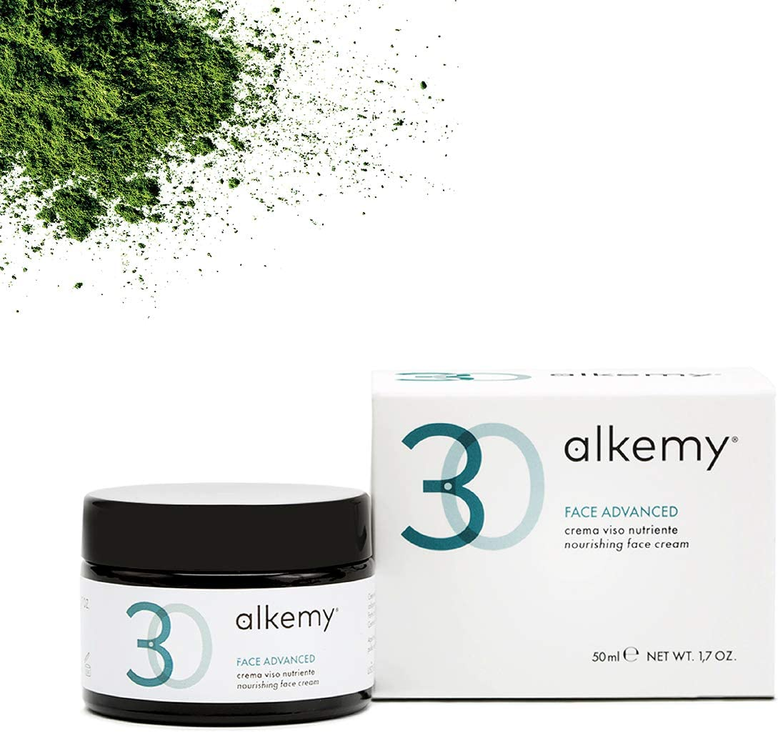 ALKEMY Crema Facial Antiarrugas – Acido Hialurónico y Colágeno Marino – fuerte acción Antiedad con Efecto Lifting – Crema Hidratante Dermatológicamente testada – Face Cream 3.0