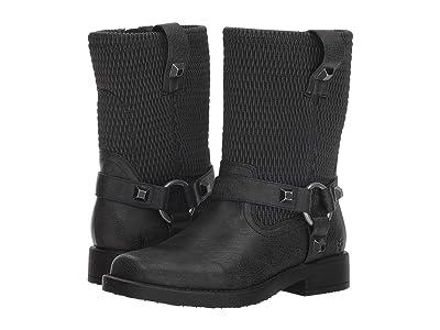 Frye Kids Harness Studs (Little Kid/Big Kid) (Black) Kids Shoes