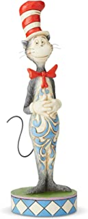 Enesco Dr. Seuss by Jim Shore The Cat in the Hat Figurine, Multi-color,