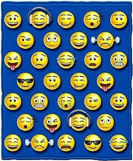 Dawhud Direct Emoji Throw Blanket