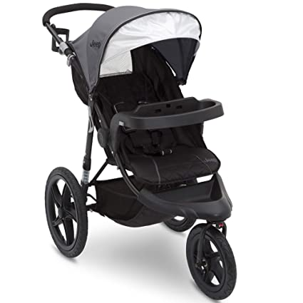 Jeep Classic Jogging Stroller - Incredible safety & security