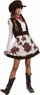 Cowgirl Child Costume, Medium