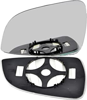 Wide Angle Left passegner side Silver Wing mirror glass # HoFR-//jh0-2009257//590