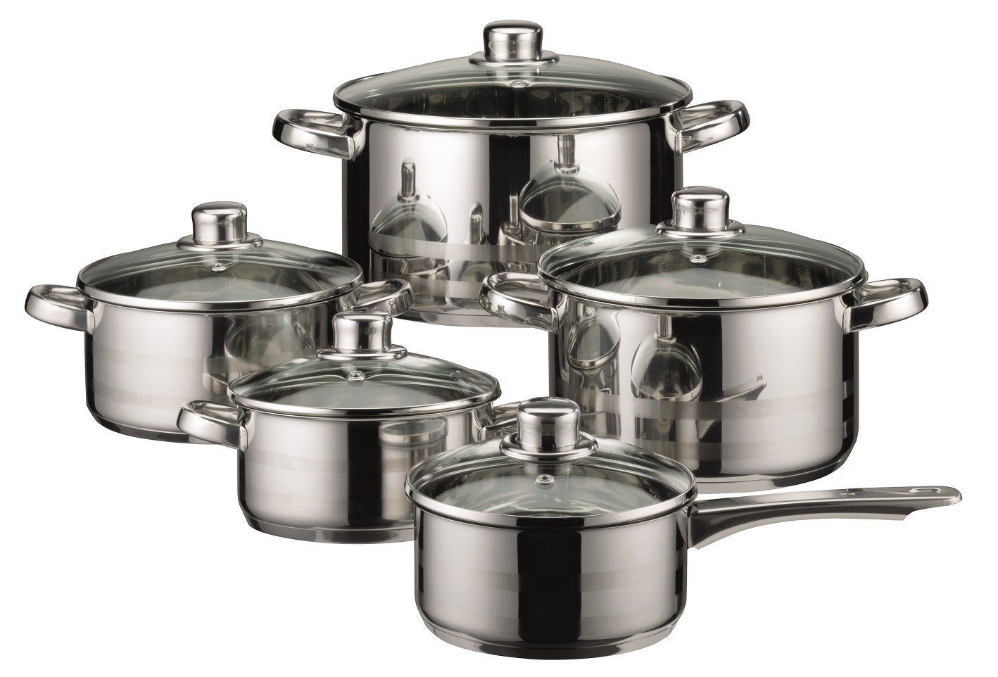 ELO Stainless Induction Cookware Ventilated