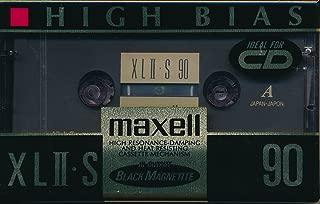 Maxell XLII-S 90 Minute Audio Cassette Tape