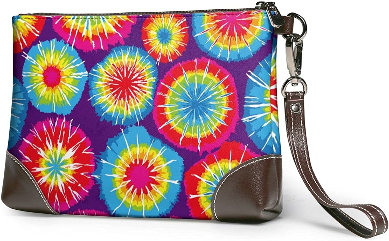 Repeat Tie Al sold out. Dye Ladies Leather-Handbag Cowhide Over item handling ☆ Design Wristb Real