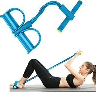 JIRVY Pedal Resistance Band Super Light Yoga Strap Elastic Pull Rope Fitness Equipment for Sit-up Bodybuilding Expander Ab...