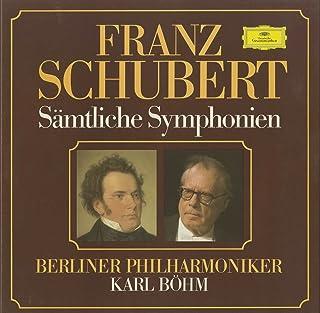 シューベルト Schubert 交響曲 Symphony 1~6番 8番 9番 ロザムンデ序曲 Rosamunde-Overture バレエ音楽 Ballet music