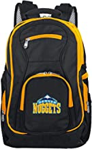 Denco NBA Colored Trim Premium Laptop Backpack, 19-inches