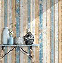 Homeme Vintage Wood Contact Paper, 45 x 600cm Peel Stick Wallpaper Self Adhesive Wallpaper with PVC Waterproof Oil-Proof R...