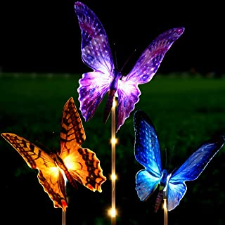 Best solar fluttering butterfly with rose Reviews