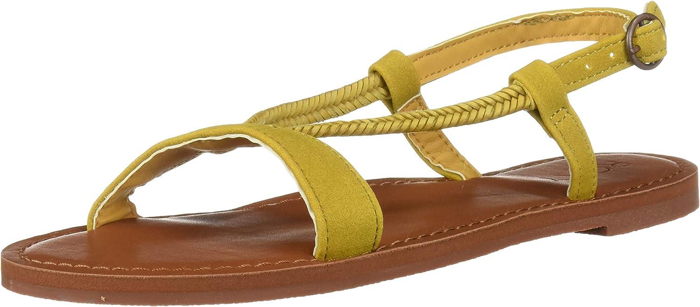 Roxy Womens Kitty Strappy Sandal Flat Sandal