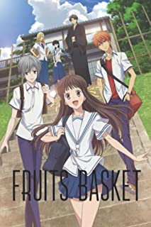 """Notebook: Fruits Basket Notebook for Anime Lovers   110 Blank Lined Pages (6"""" x 9"""") Can Use as a Planner, Journal or as Di..."""