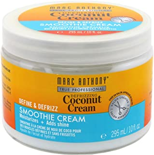 Marc Anthony Coconut Cream Curls Smoothie Cream 10 Ounce Jar (295ml) (2 Pack)