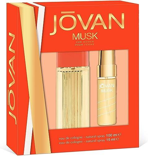 Jovan Musk Set Mujer Duplo Edc 100 + Mini 15: Amazon.es: Belleza