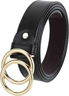 Woomcraft Women's Faux Leather Belt (Free Size)