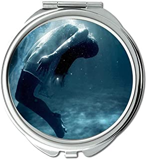 Mirror,Small Mirror,Water,female,drowned,pocket mirror,1 X 60X Magnifying