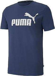 Puma Erkek ESS Logo Tee Dark Denim T-shirt