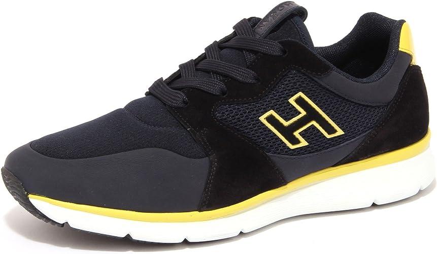 Hogan 4184Q Sneaker Uomo New Sneaker Nero/Blu/Giallo Shoe Men [6.5 ...
