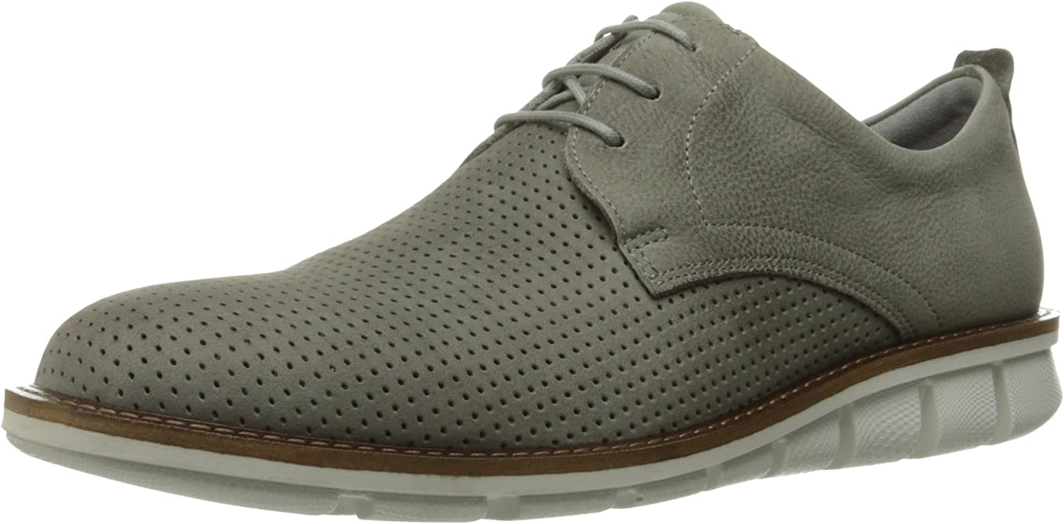 ECCO Men's Jeremy Perforated Tie Oxford
