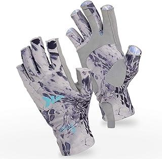 KastKing Sol Armis Sun Gloves UPF50+ Fishing Gloves UV Protection Gloves Sun Protection..