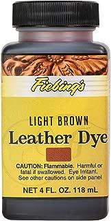 Fiebings Light Brown Leather Dye 2100-05