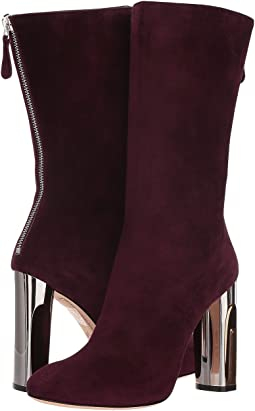 Sculpted Heel Fitted Bootie