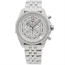 Breitling Bentley Mechanical (Automatic) Silver Dial Mens Watch A41390AP/G788 (Certified Pre-Owned)
