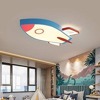 Lampe pour Enfants Plafonnier LED Spots De Plafond Moderne 22W Abat-Jour Acrylique Créatif Pendentif Lumière Éclairage Gar...