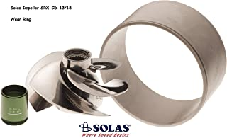 Solas Sea Doo 4-Tec 215 Impeller SRX-CD-13/18 with Wear Ring GTX RXP RXT Wake