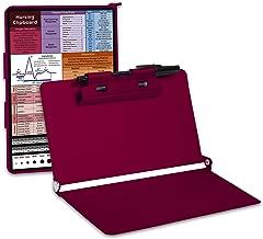 Shiplies Nursing Clipboard with Pen Holder, Folding Pocket Size, Lightweight Aluminum Construction