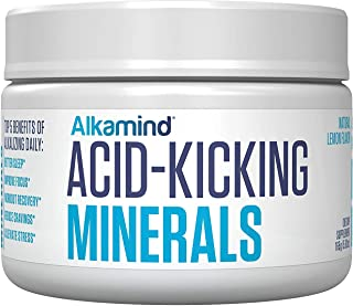 Alkamind Daily Minerals Supplement to GET Off Your Acid! 4 Pure Minerals to Alkalize & Replenish and Balance Your Body's p...
