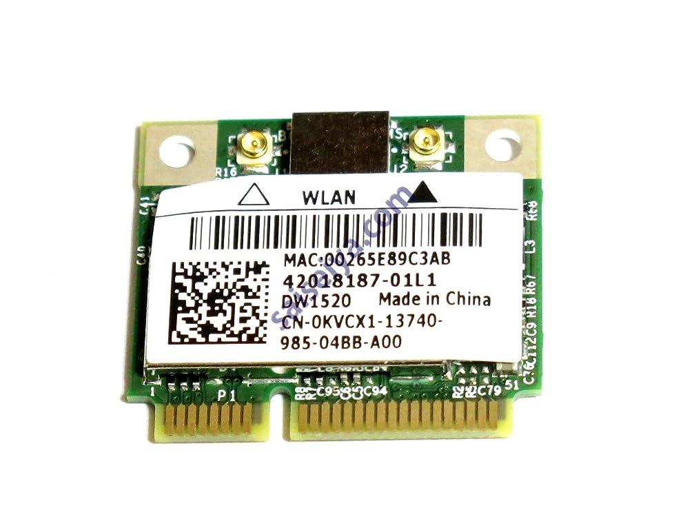 野生曲がった雪だるまBCM943224HMS Dell Wireless 1520 PCIe Half-Mini 無線LANカード 802.11a/b/g/n対応