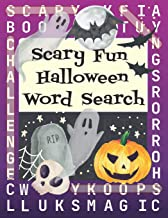 Scary Fun Halloween Word Search: 50 Puzzles, Big Game Activity Book for Adult Classic Horror Fans, Answer Key Included