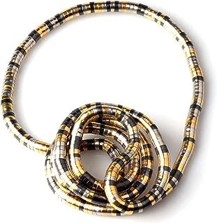GVUSMIL Bendable Snake Twistable Adjustable Neck Collar Choker Necklace Wrap Bracelet Scarf Holder