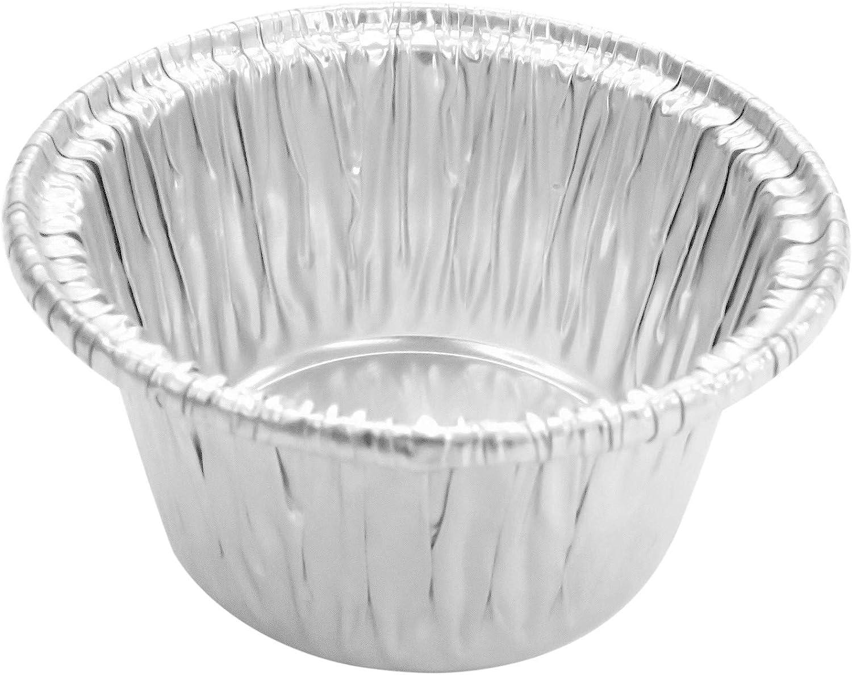 Super sale period limited Disposable Aluminum Individual 2 Oz Cups-ramek Foil Cups-Souffle Ranking TOP5