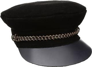 Brixton Kayla Black Flat Cap