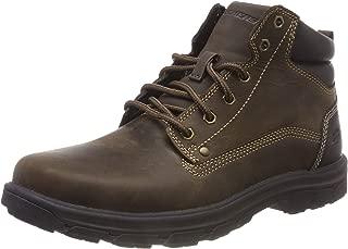 Skechers Skechers 男士细条纹 Chukka 靴子