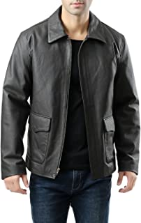 Landing Leathers Men's Hero Indy-Style Leather Jacket (Regualr & Tall Sizes)