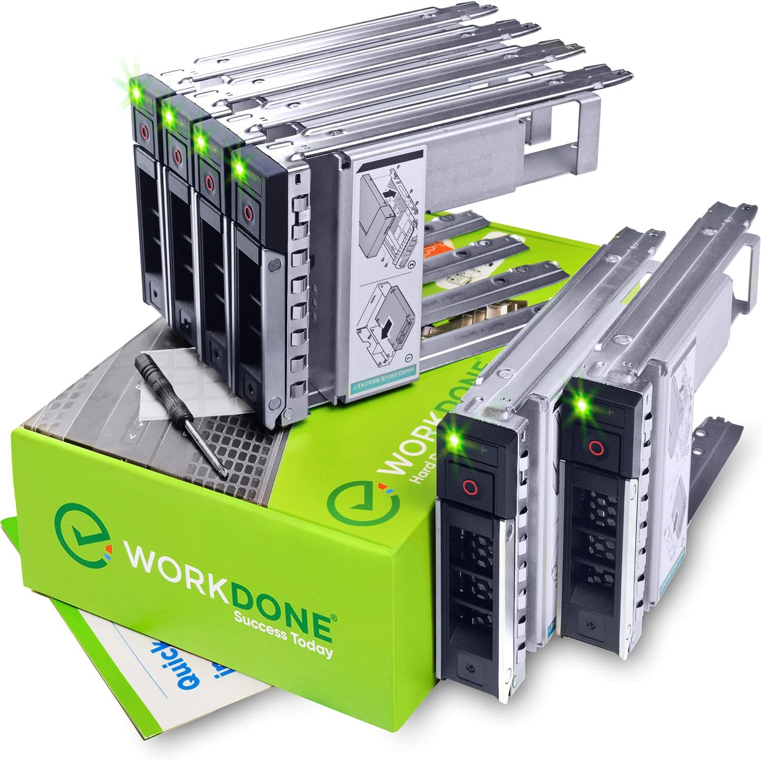 WORKDONE 6-Pack - 3.5