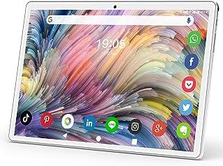 タブレット 10.1インチ 3G電話タブレット モバイルデュアルSIMカード 2.4GHz Wi-Fi対応 クアッドコアCPU Android9.0 高精細HD1280*800IPS液晶ディスプレイ ROM32GB 128GのmicroSDカー...