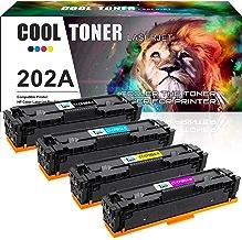 $128 » Cool Toner Compatible Toner Cartridge Replacement for HP M281fdw CF500A CF500X HP 202A 202X for HP Laserjet Pro MFP M281fdw M254dw M281cdw M281dw M280nw M254 M281 CF501A CF502A CF503A Ink Printer-4PK