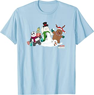 Cartoon Network We Bare Bears Christmas Group T-Shirt