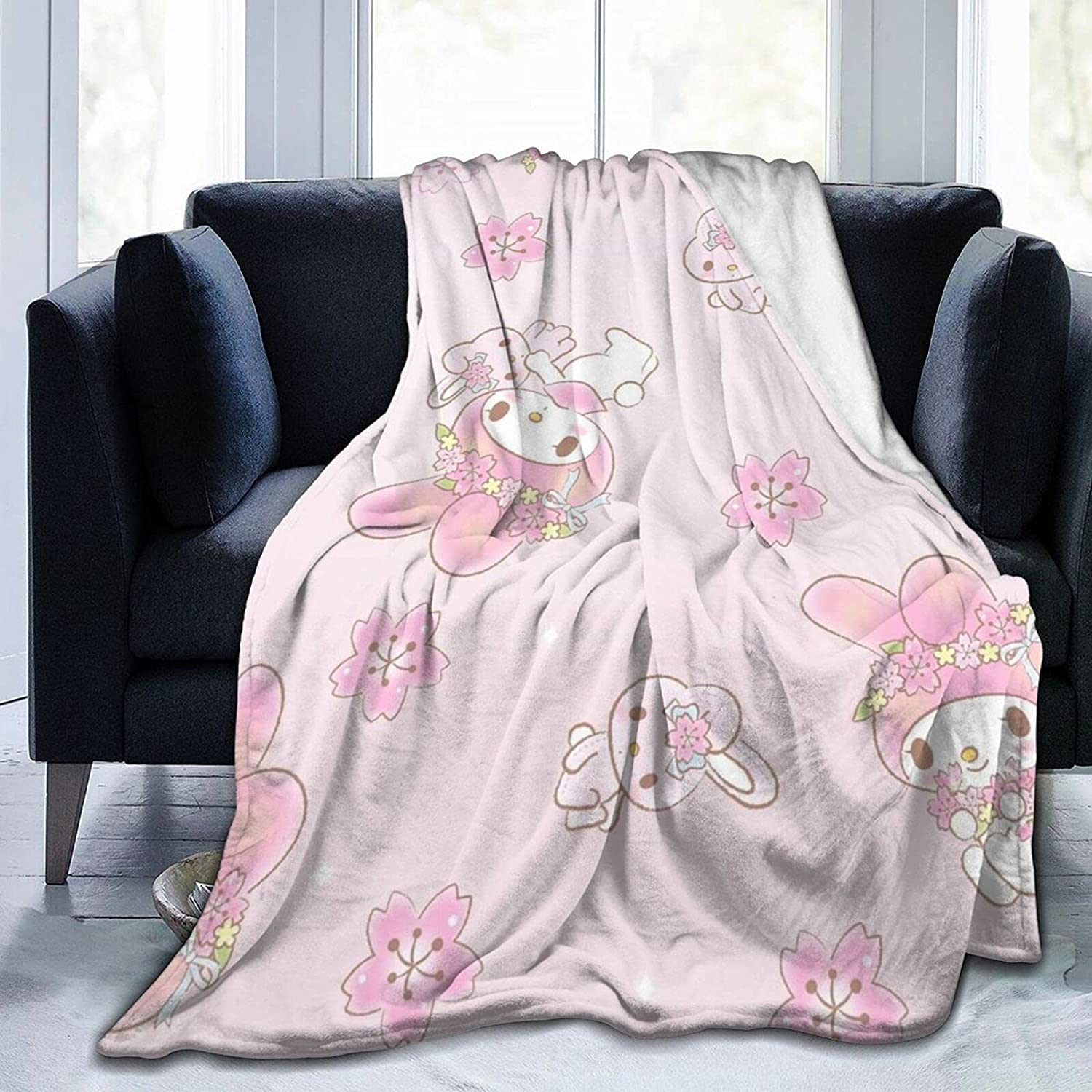 Kuromi and My Melody Blanket Comfortable Flannel online shop Ranking TOP3 B Warm Soft