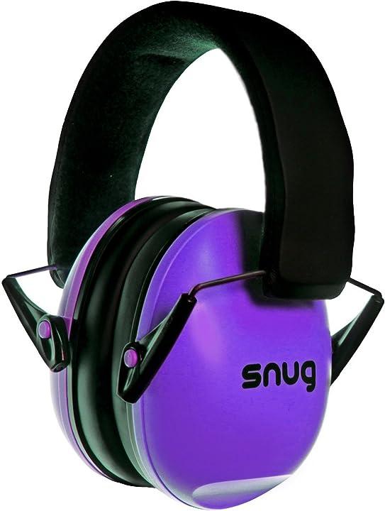 paraorecchie per bambini e adulti - snug safe n sound snkedbk