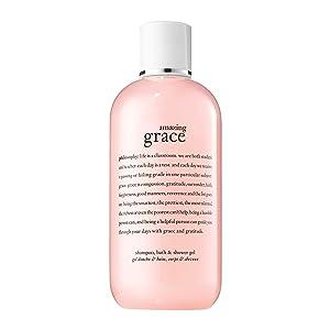 philosophy amazing grace shampoo, bath & shower gel, 8 oz